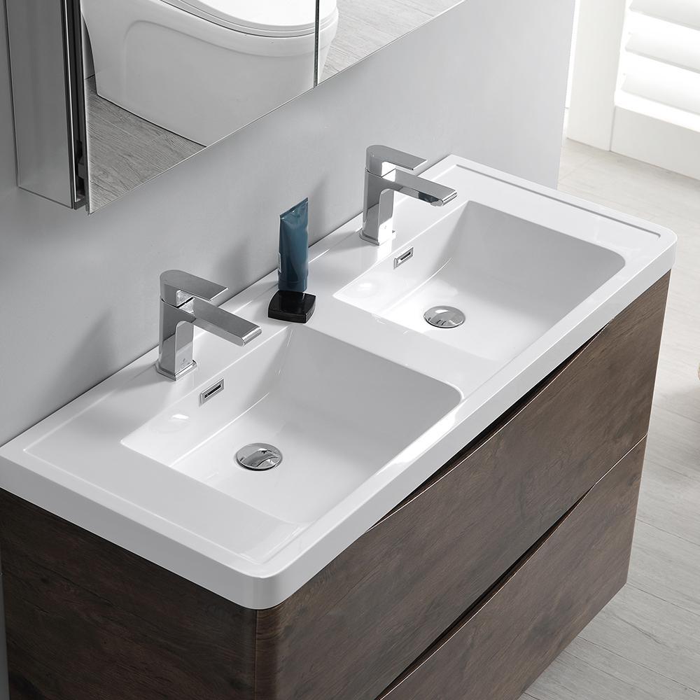 Modern Double Bathroom Vanity
