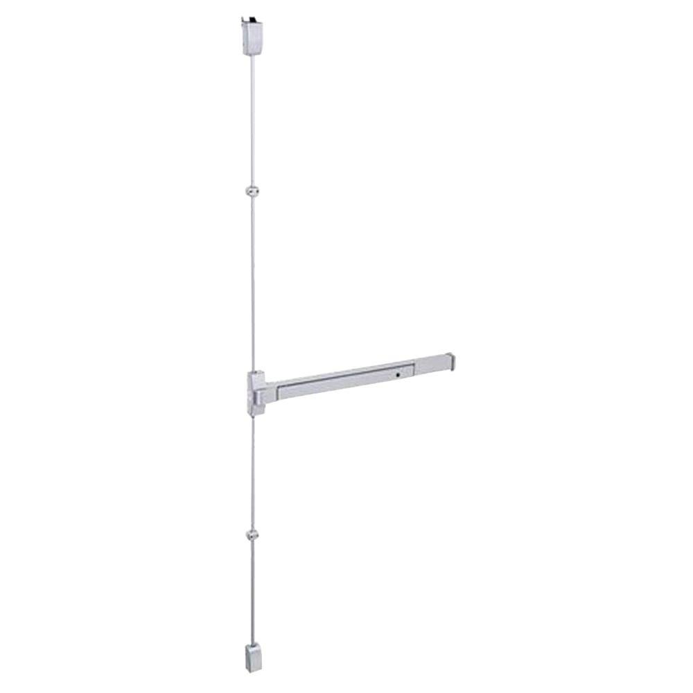 36 in. Aluminum Touch Bar Surface Vertical Rod Exit Device