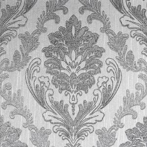 Arthouse Luxe Damask Silver Wallpaper 906609 The Home Depot