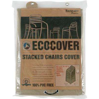 Eco-Cover 30 in. x 27 in. x 42 in. Stacked Chairs Cover