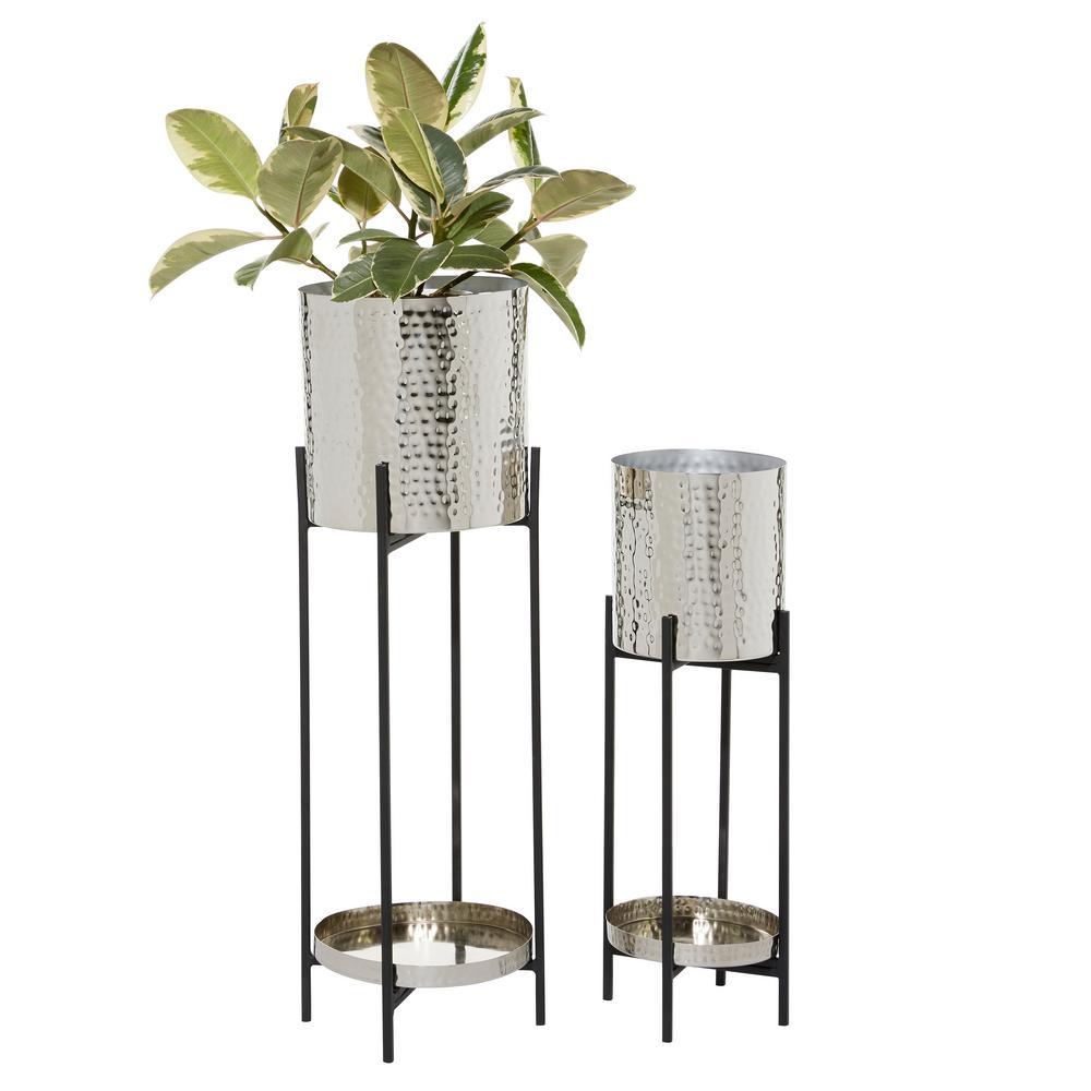 Metal Vertical Garden Planters Planters The Home Depot