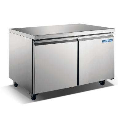 60 in. W 15 cu. ft. Undercounter Commercial Refrigerator in Stainless Steel