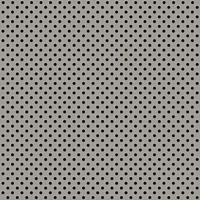 Silver 2 ft. x 2 ft. Perforated Metal Ceiling Tiles (Case of 10)