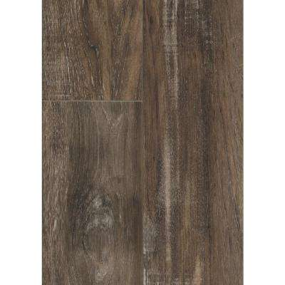Take Home Sample - Carmel Coast Teak Laminate Flooring - 5 in. x 7 in.