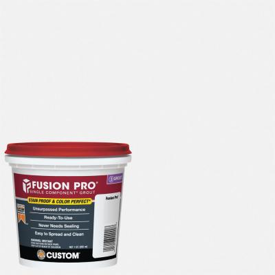 Fusion Pro #640 Arctic White 1 qt. Single Component Grout