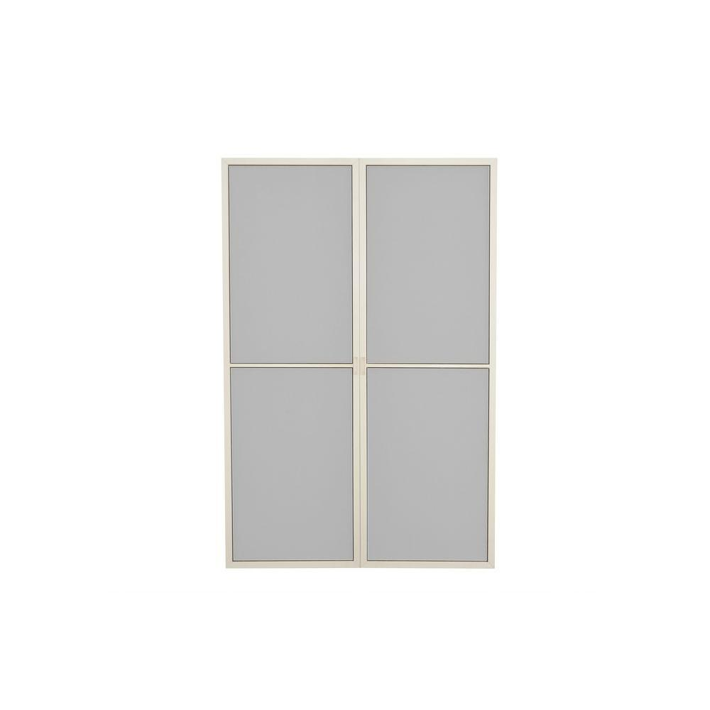 Palram 53.9 in. W x 80.6 in. H SanRemo Patio Enclosure Screen Door Set (2-Piece)