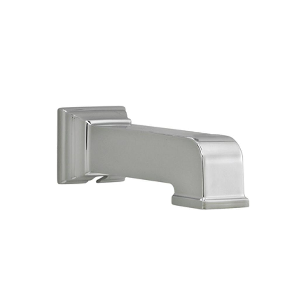 American Standard Town Square Slip-On Tub Spout in Polished Chrome ...
