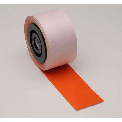 Industrial Printer General Purpose 2.25 in. x 110 ft. Vinyl Orange Tape