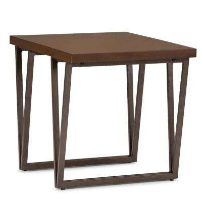 Ryder Natural Aged Brown End Table
