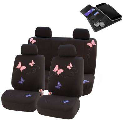Polyester 90 Days Car Seat Covers Interior Car Accessories The Home Depot