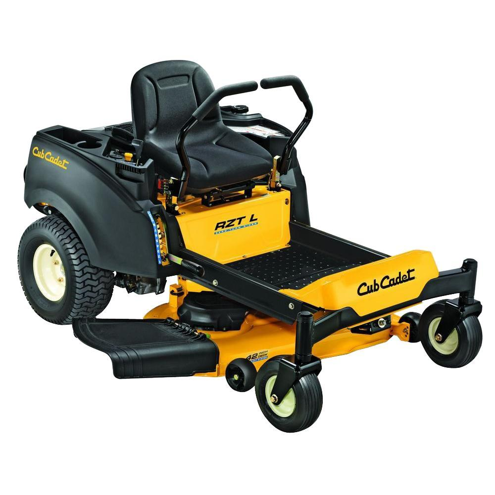 RZT-L 42 in. 688cc Honda V-Twin Dual-Hydro Zero-Turn Mower with Cub