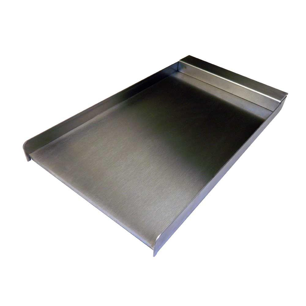 12 in. Stainless Steel Drop On Griddle Plate