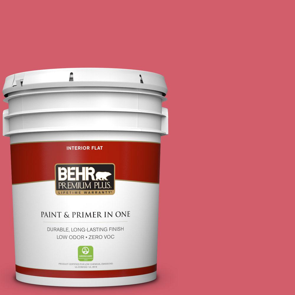 5 gal. #140B-6 Italiano Rose Zero VOC Flat Interior Paint