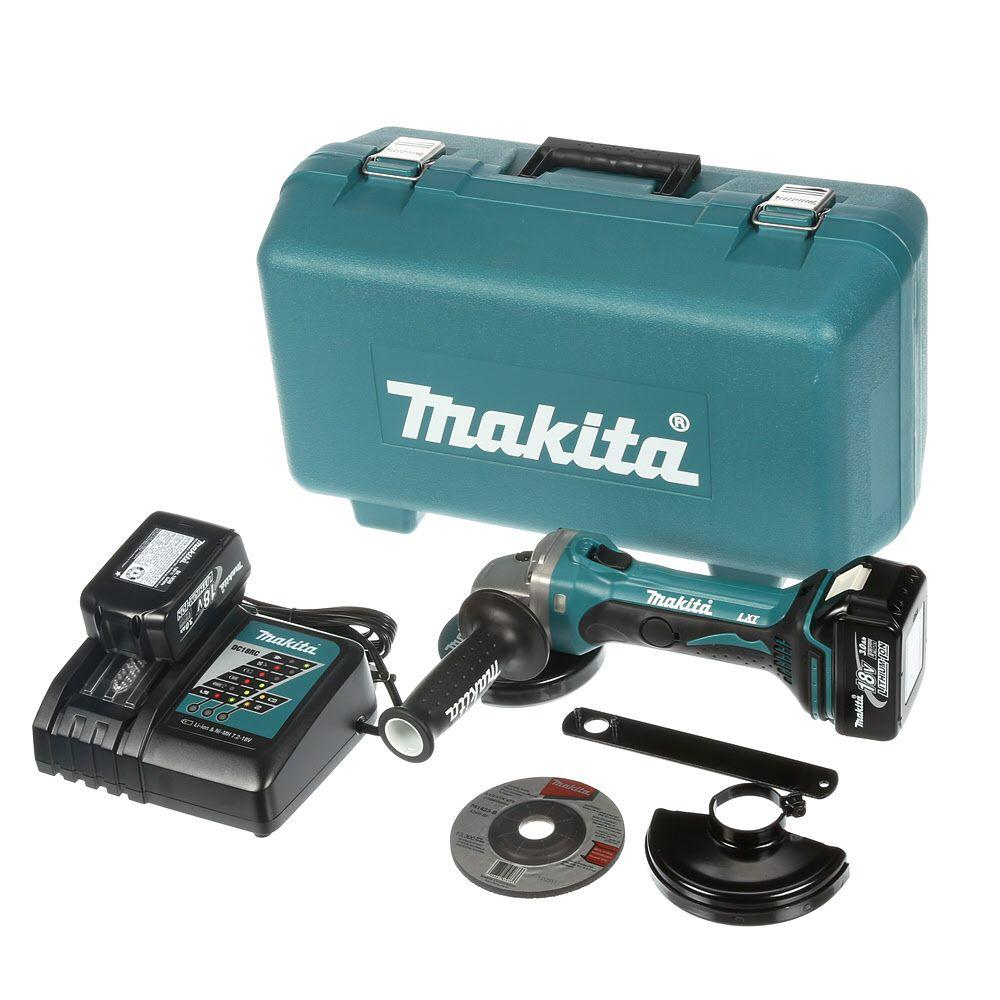 Lithium Ion Battery Grinder ~ Makita volt lxt lithium ion in cordless cut off