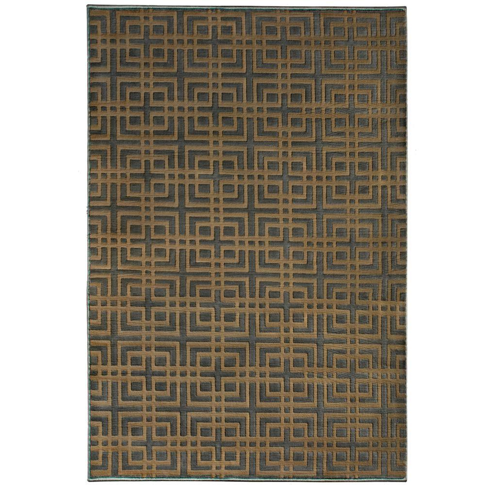 Orian Rugs Fortner Gainsboro Grey 5 ft. 3 in. x 7 ft. 6 in. Area Rug