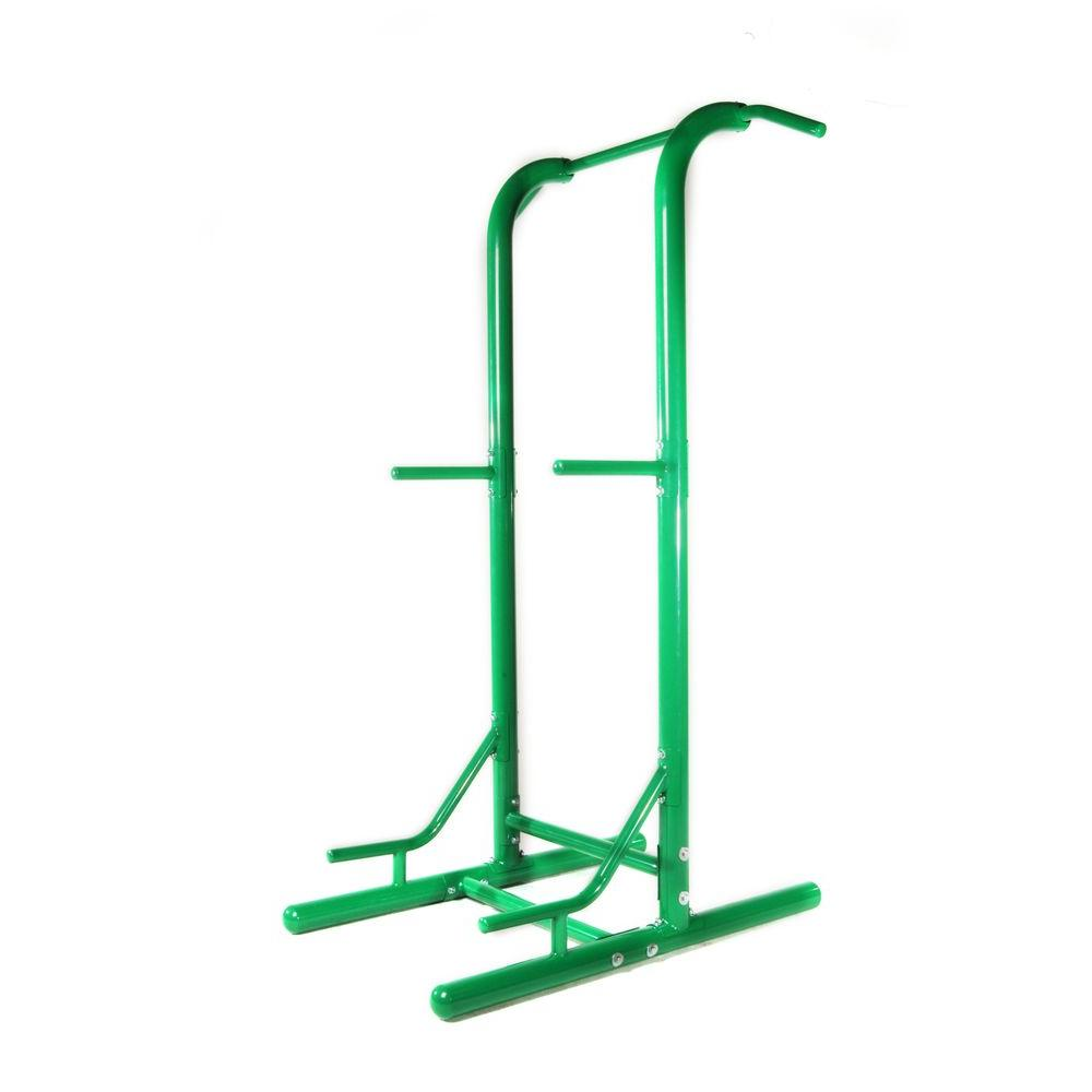 null Outdoor Power Tower with Horizontal Bars