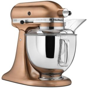 Custom Metallic 5 Qt. Satin Copper Stand Mixer