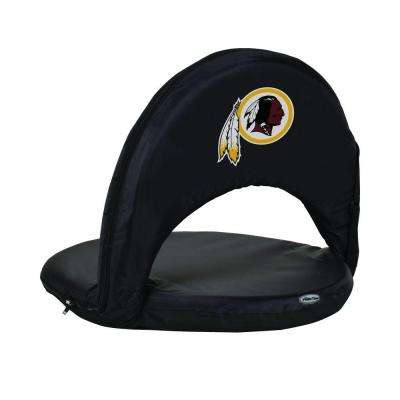 Oniva Washington Redskins Black Patio Sports Chair with Digital Logo