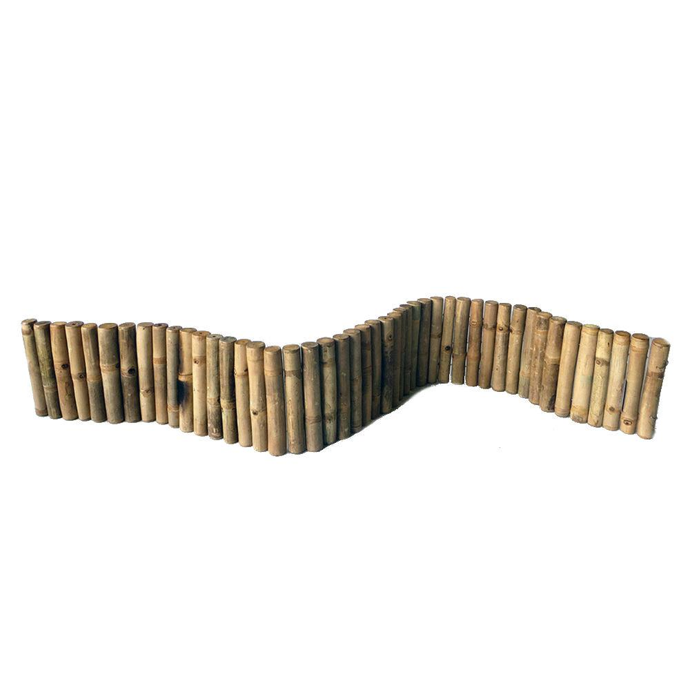 MGP 6 ft. Even Solid Bamboo Edging