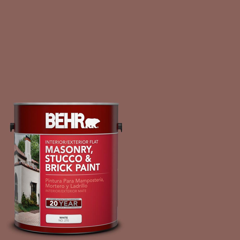 1 gal. #BXC-52 Natural Copper Flat Interior/Exterior Masonry, Stucco and Brick Paint
