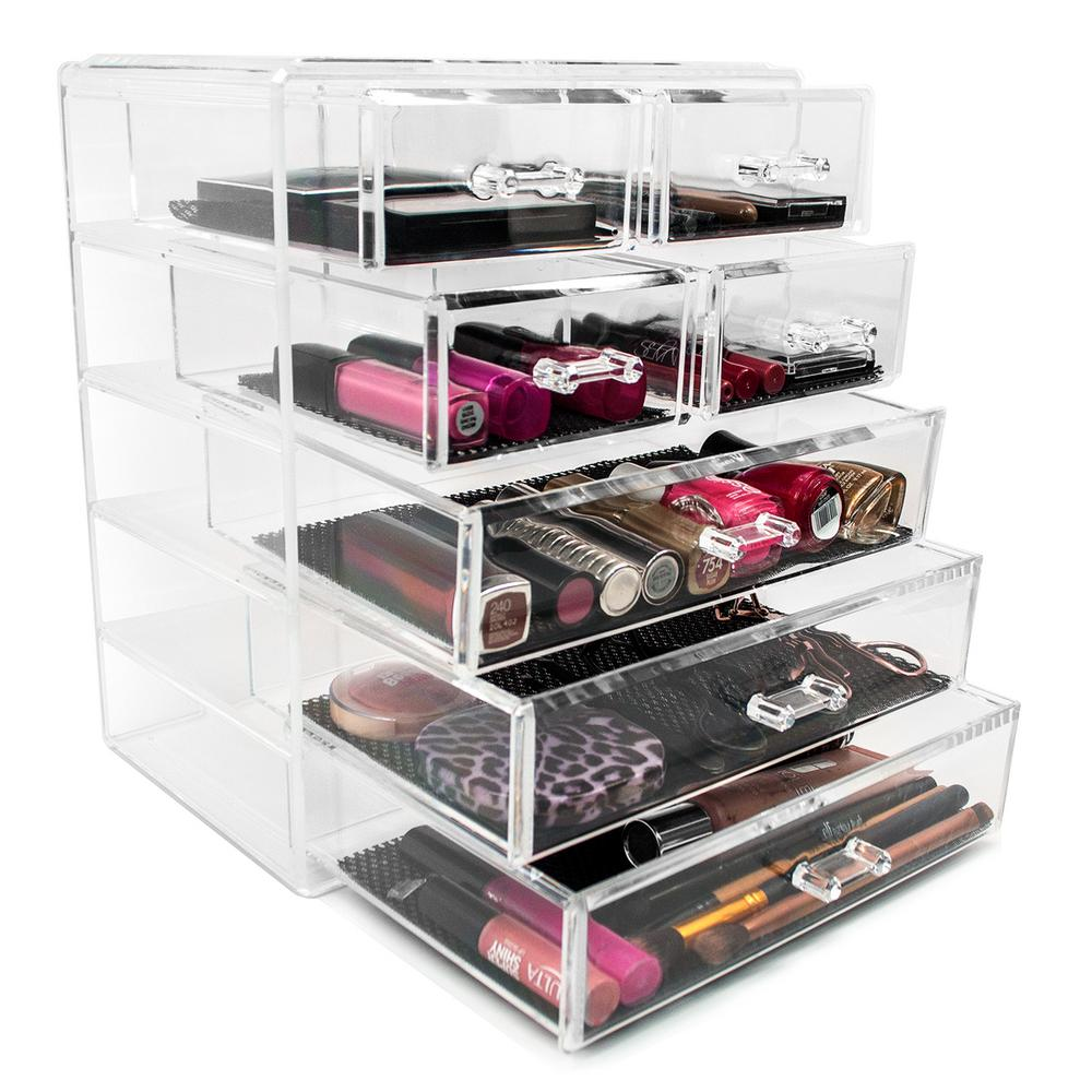 Sorbus 11.25 in. W x 6.25 in. H 1-Cube Cosmetic Organizer
