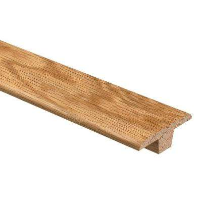 Natural Oak HS 3/8 in. Thick x 1-3/4 in. Wide x 94 in. Length Hardwood T-Molding