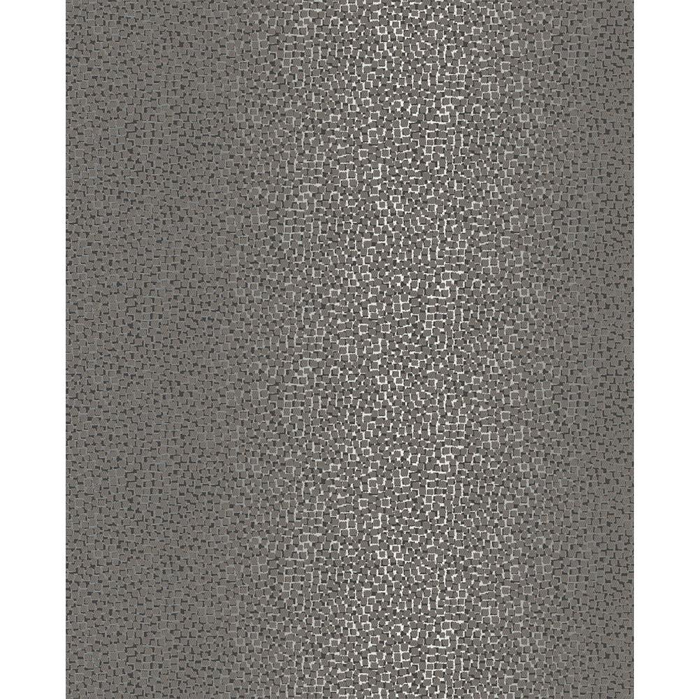 Ostinato Black Geometric Wallpaper Sample