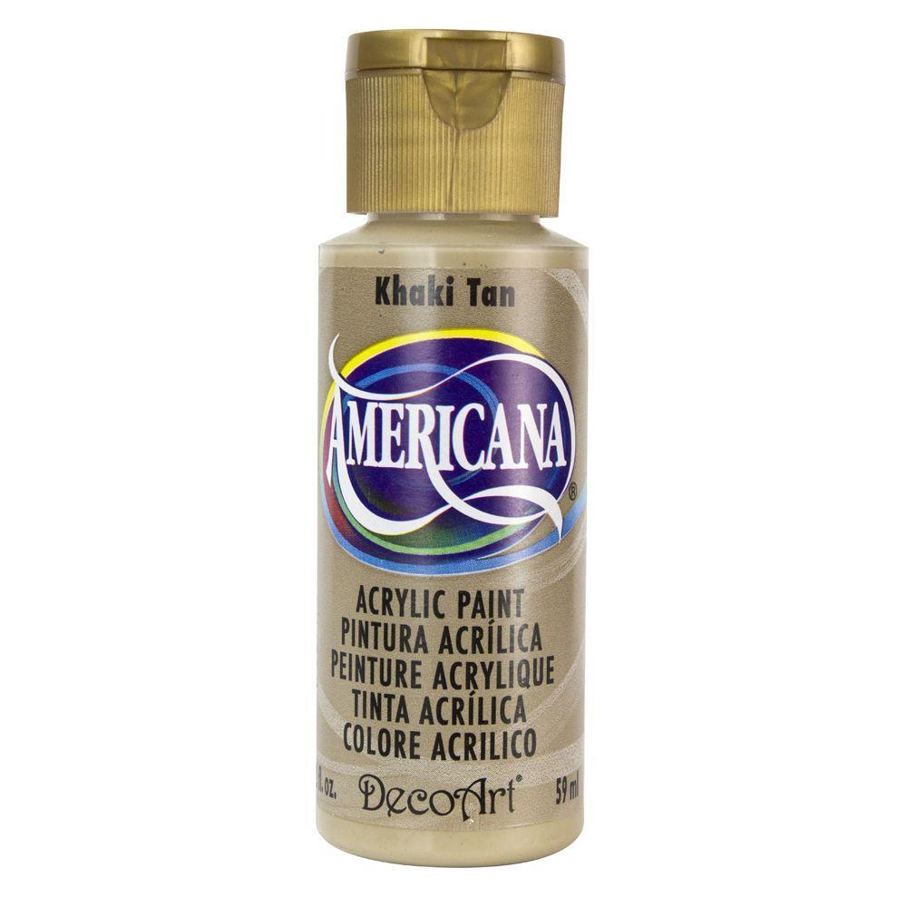 Americana 2 oz. Khaki Tan Acrylic Paint