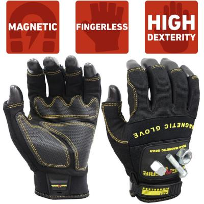 Pro Fingerless X-Large Magnetic Glove