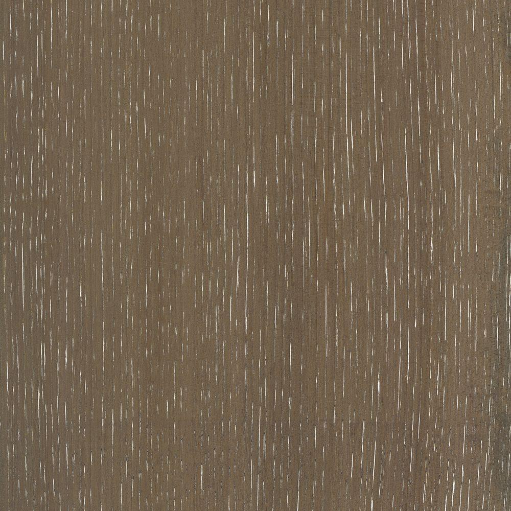 Take Home Sample - Wire Brushed Hickory Grey Hardwood Flooring -