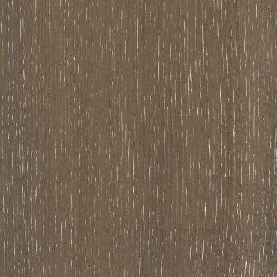 Take Home Sample - Wire Brushed Hickory Grey Hardwood Flooring - 5 in. x 7 in.