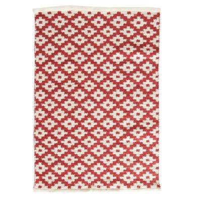 Zest Red 2 ft. x 3 ft. Indoor/Outdoor Area Rug