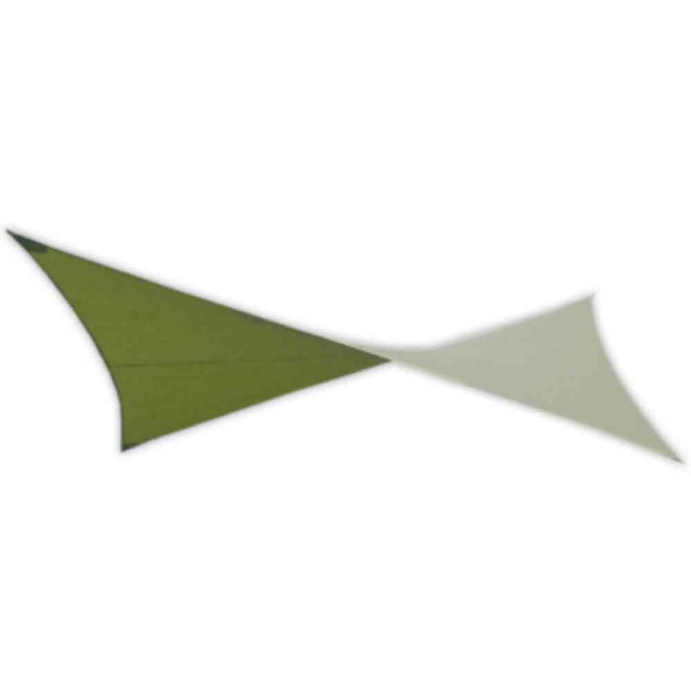 18 ft. Deep Green Patio Square Shade Sail with Mounting Hardware