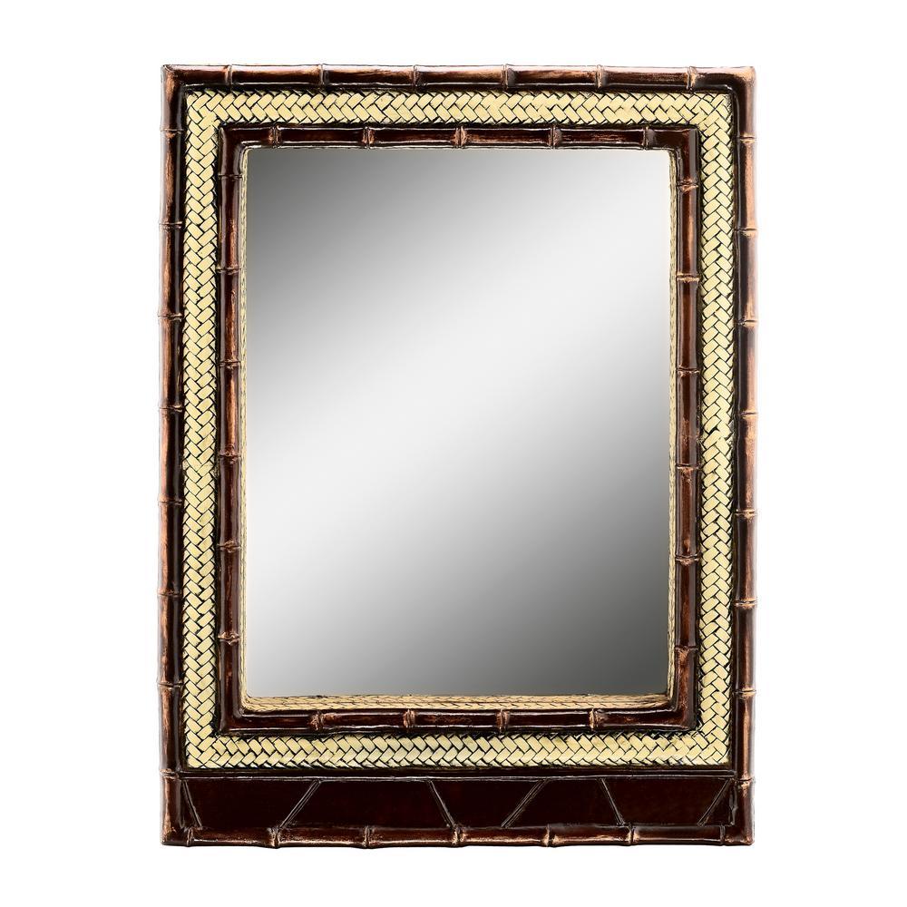 Bahama Brown Decorative Mirror
