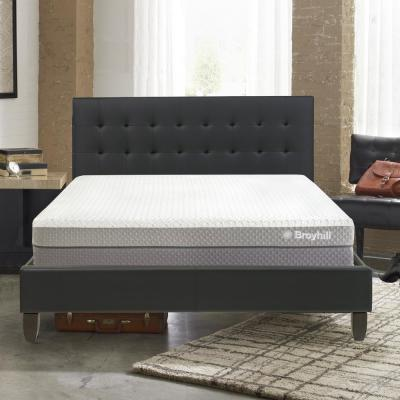 Cube 10 in. Queen Customizable and Adjustable Contouring Air Flow Memory Foam Mattress