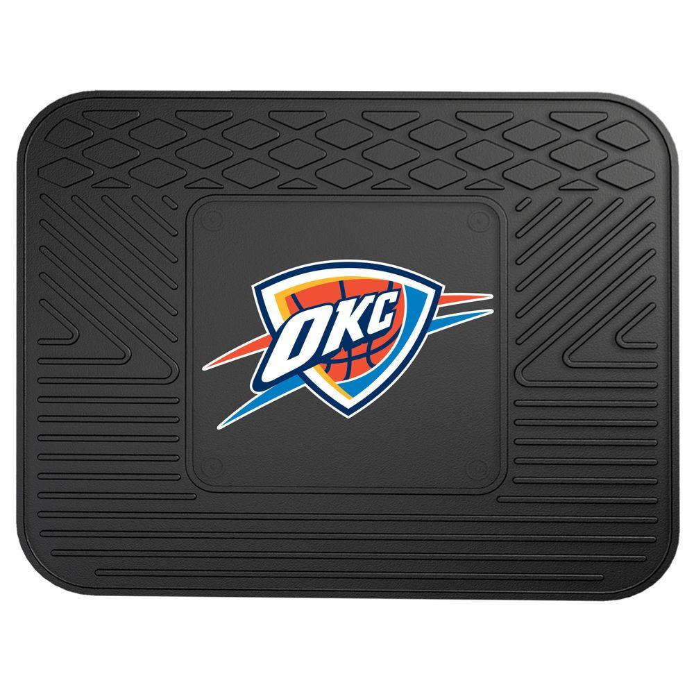 Fanmats oklahoma city thunder 14 in x 17 in utility mat for Parquet mat ou satine