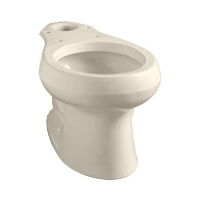 Wellworth Round Toilet Bowl Only in Biscuit