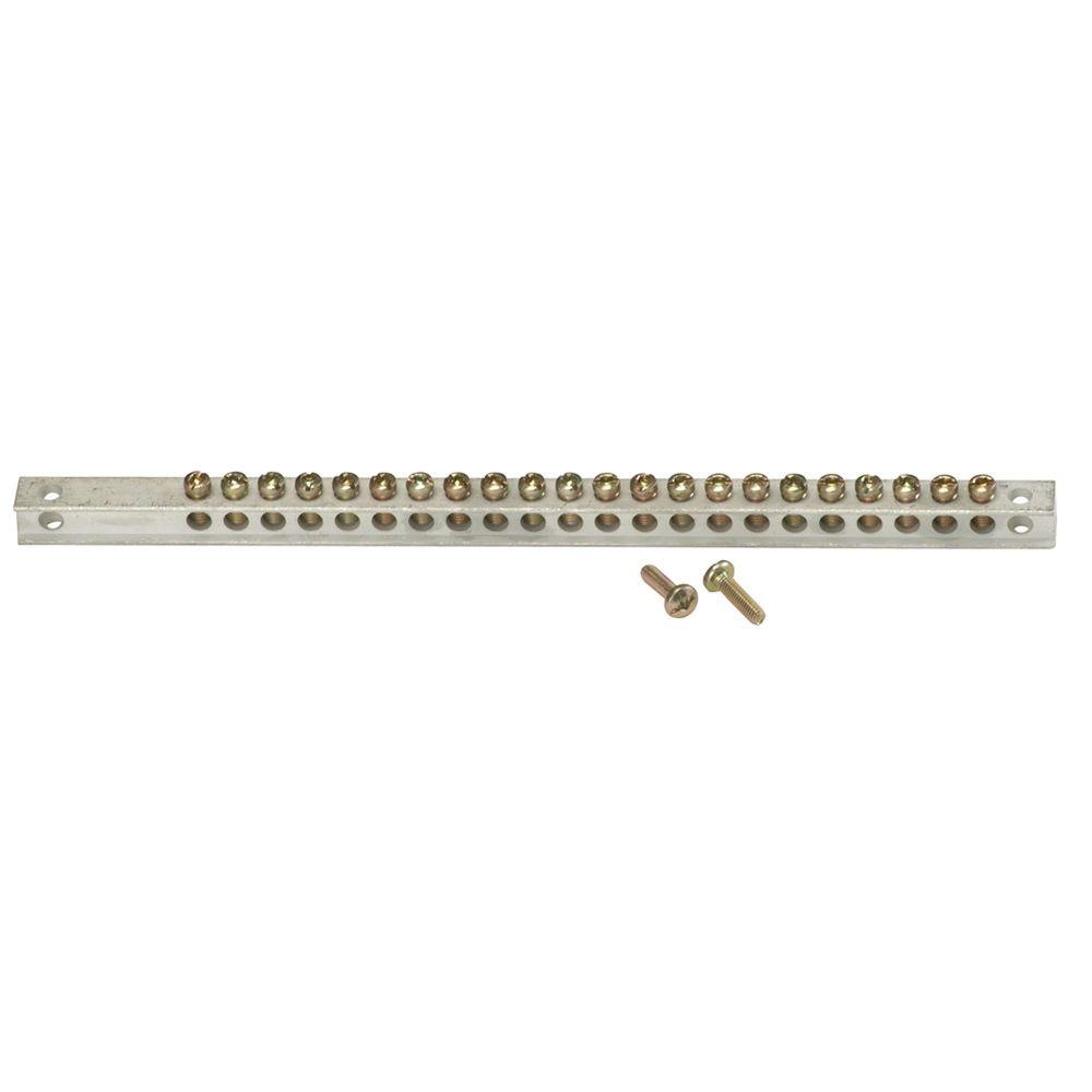 GE PowerMark Gold 24-Hole Grounding Bar Kit