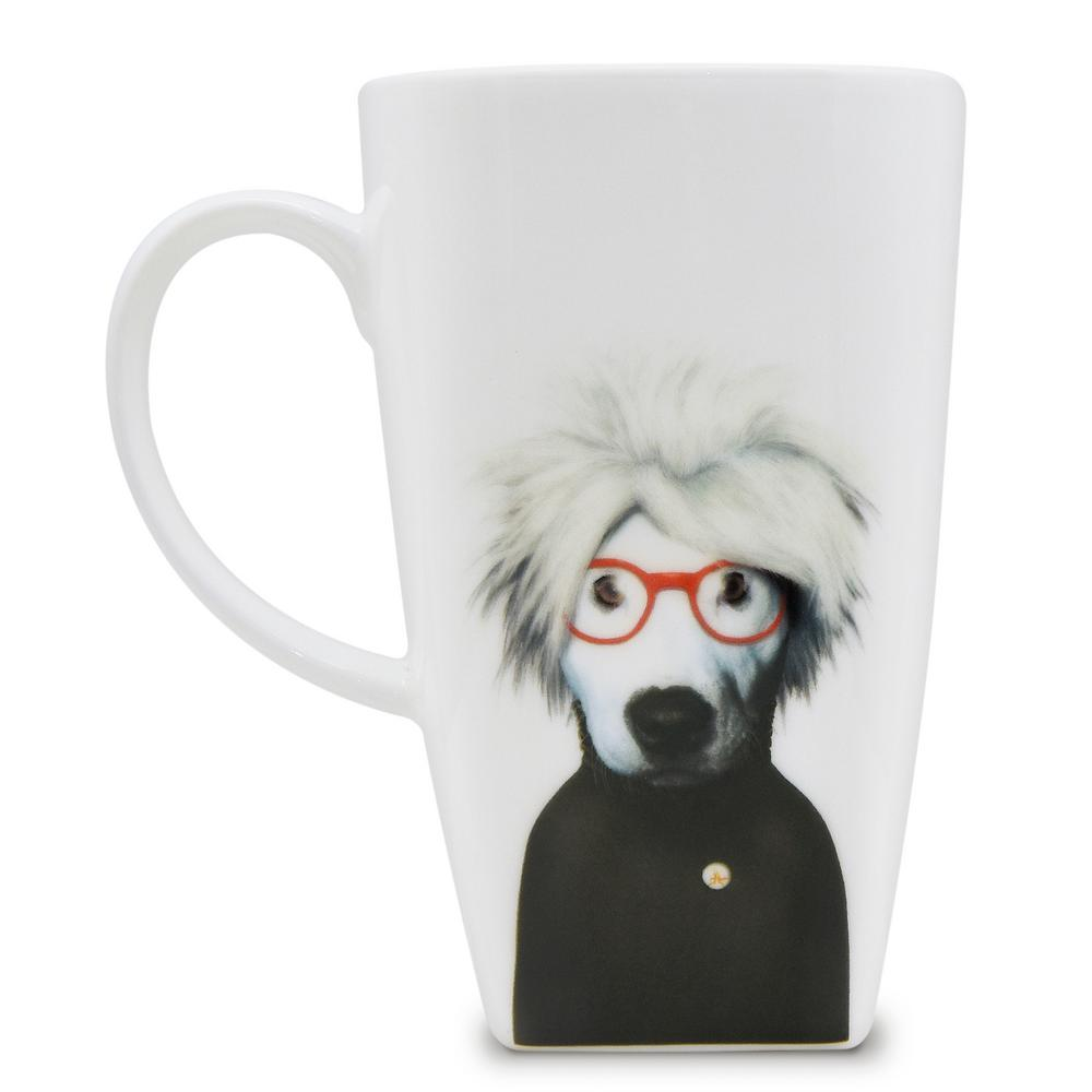 20 oz.  Soup  Pets Rock Collectible Fine Bone China Mug, Soup These Pets Rock fine bone china coffee mugs give you the option to see the adorable pets you love dressed as celebrities on your mugs. Available with a variety of furry creatures to fit any animal lovers desires. What better way to start your morning than with a cup of Joe and your adorable Pets Rock buddy. The porcelain is milky white in color, beautiful in shape and comfortable in your hand. Color: Soup.