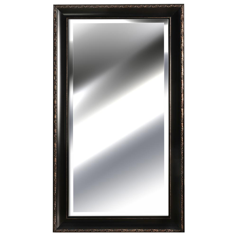 Pinnacle 54.9 in. x 30.9 in. Bronze Framed Mirror-13FP2453A - The ...