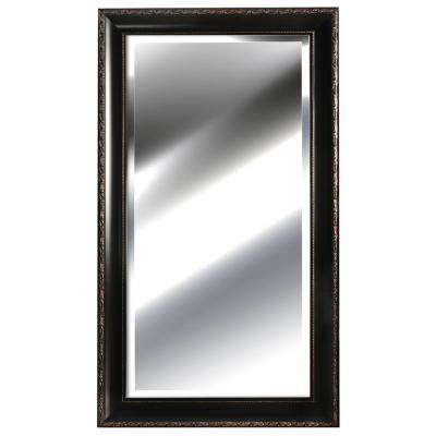 54.9 in. x 30.9 in. Bronze Framed Mirror