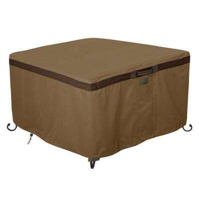 Hickory 42 in. Square Fire Pit Table Cover