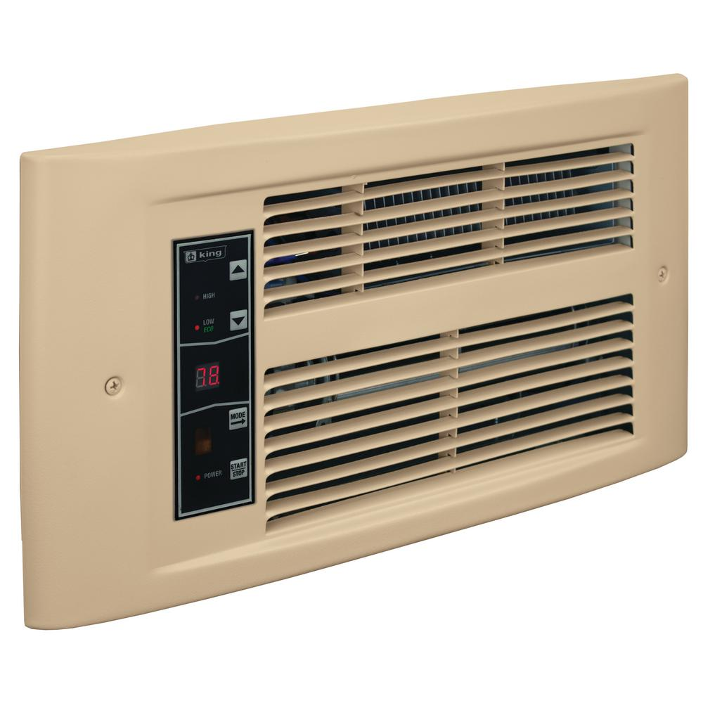 PX Eco 120-Volt, 1500-Watt, Electric Wall Heater in Almondine