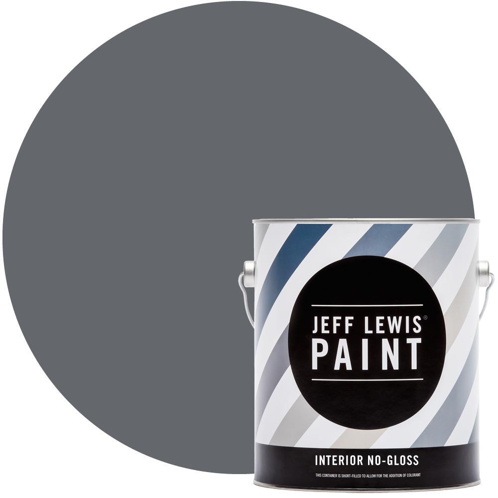 1 gal. #421 Gun Powder No Gloss Interior Paint