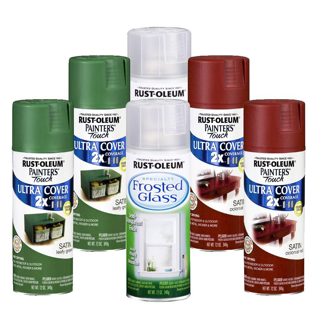 Rust-Oleum 6-Piece 12 oz. Christmas Traditional Spray Paint Collection-DISCONTINUED