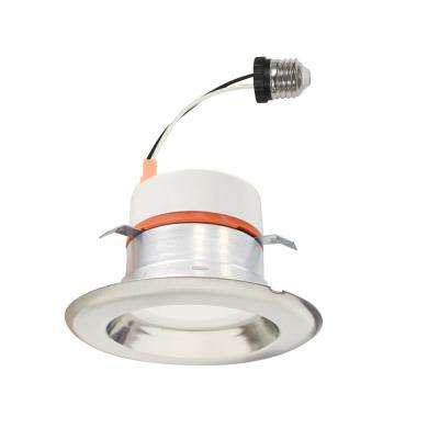 4 in. Selectable Integrated LED Recessed Retrofit Interchangeable Trim