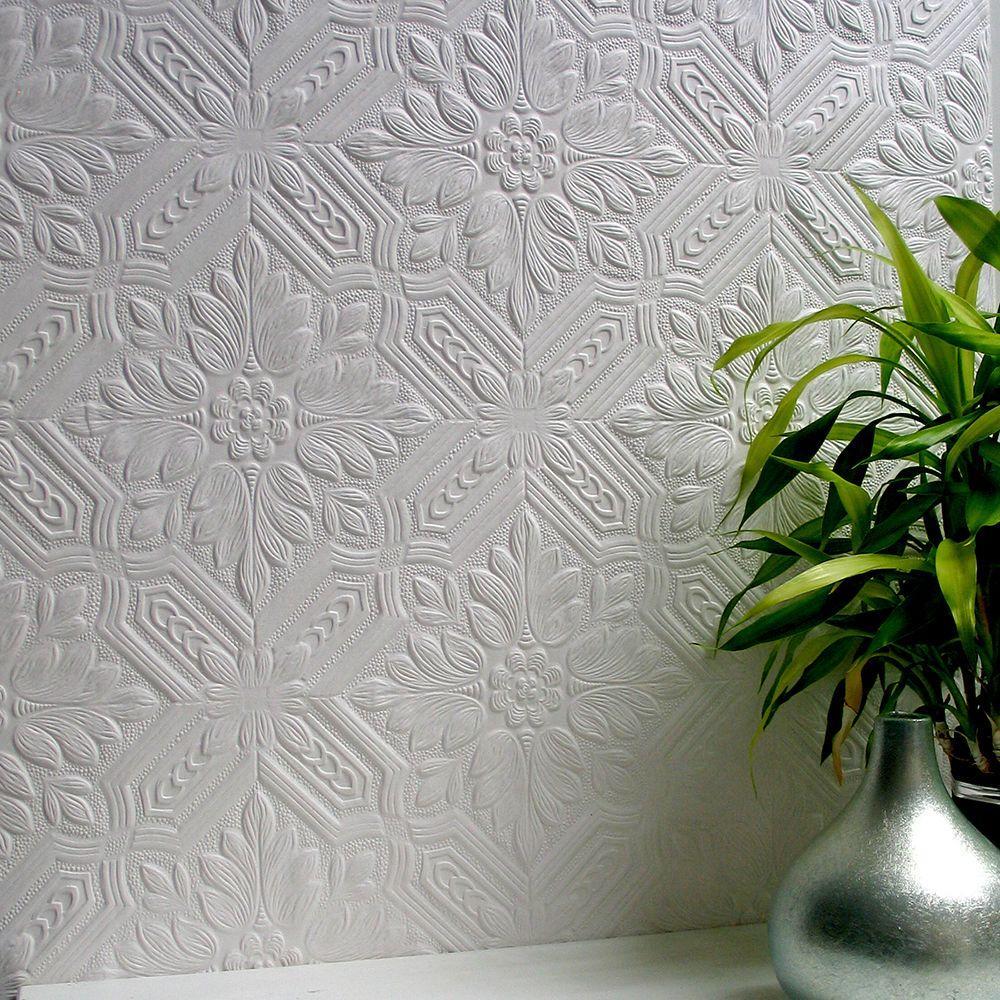 Howard Paintable Supaglypta Wallpaper