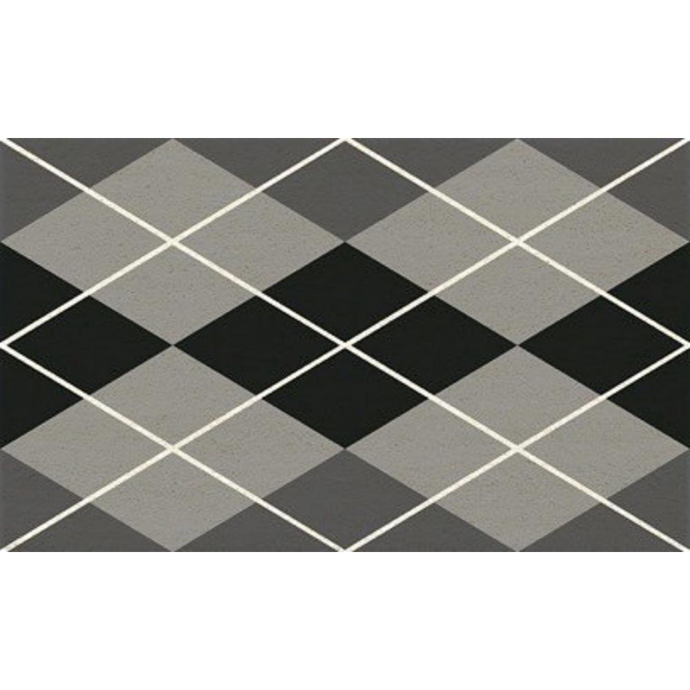 Dynamic Rugs Aspen Argyle 18 In X 30 In Door Mat As232969910 The