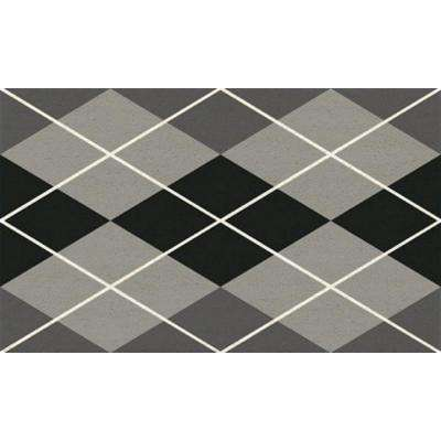 Aspen Argyle 18 in. x 30 in. Door Mat