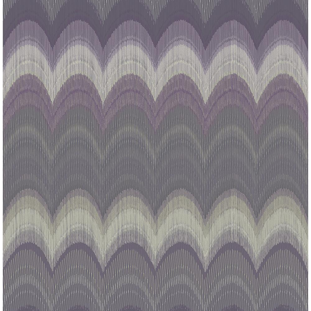 Kenneth James August Purple Wave Wallpaper 2671-22446